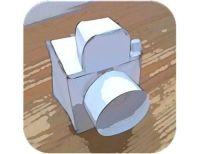 Paper Camera - Egy fizetős, ám nagyon kényelmesen kezelhető kép készítő alkalmazás.