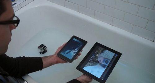 Ismét egy törésteszt - Nexus 7 vs. iPad 3