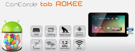 Az új ConCorde Rokee tab szépen hódít